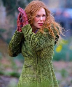 Nicole Kidman TV Series The Undoing Grace Fraser Green Trench Coat