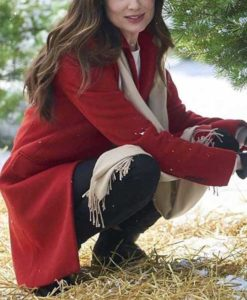 Jennifer On the 12th Date of Christmas Coat