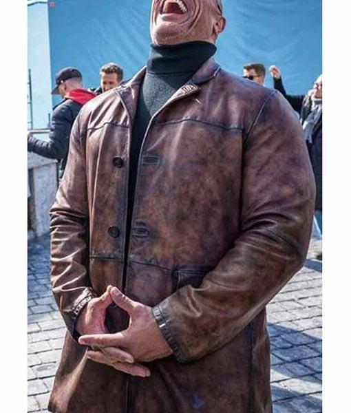 Dwayne Johnson Red Notice Coat
