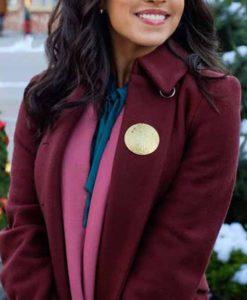 Kendra Adams The Christmas Ring Coat