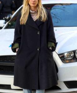 Cassie Bowden The Flight Attendant Coat