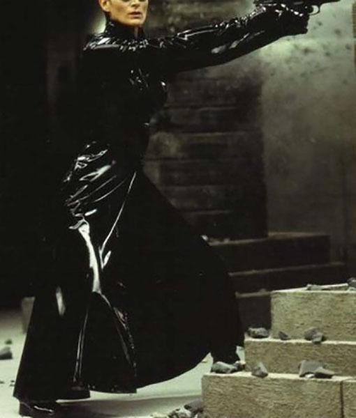 Trinity The Matrix 4 Coat