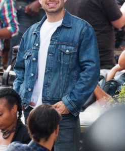 Sebastian Stan The 355 Jacket