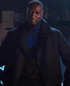 Arsene Lupin 2021 Omar Sy Black Coat
