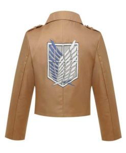 Attack On Titans Survey Crops Jacket