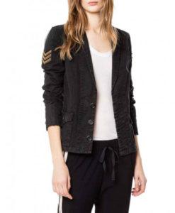 B Positive Gina Dabrowski Military Jacket
