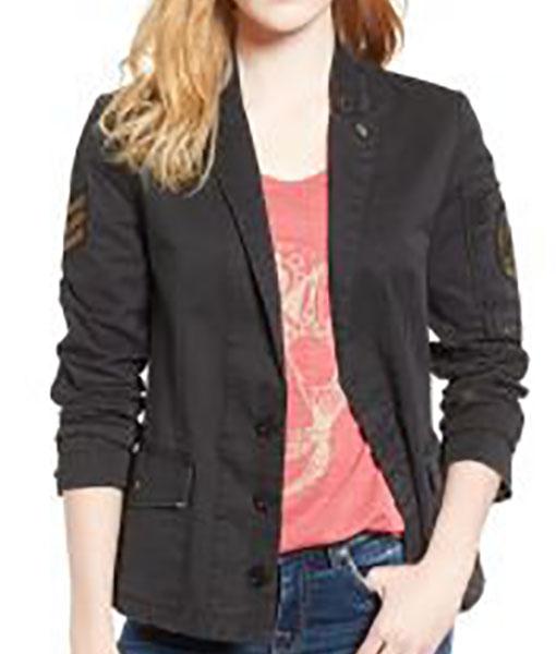 Gina Dabrowski B Positive Jacket