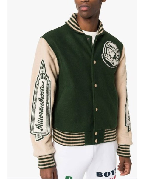Billionaire Boys Club Astro Heart Mind Varsity Jacket