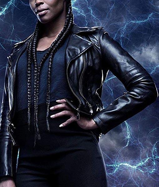 Anissa Pierce Black Lightning Jacket