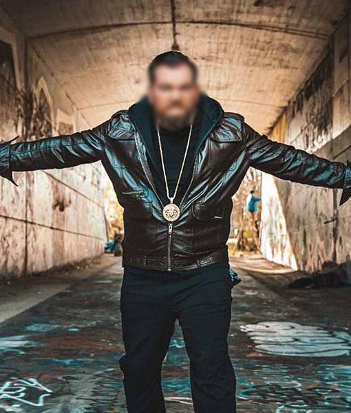Bruce Soscia Leather Jacket