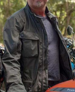 Charley Boorman Long Way Up Grey Jacket