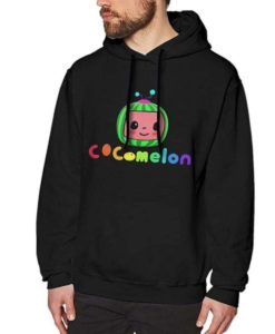 Cocomelon Black Hoodie