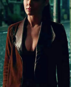 Diana Wonder Woman Brown Jacket
