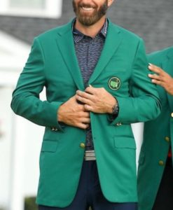 Dustin Johnson Green Jacket