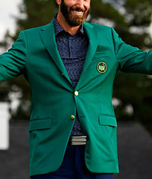 Dustin Johnson Green Jacket