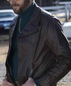 Ricky G Fargo Leather Jacket