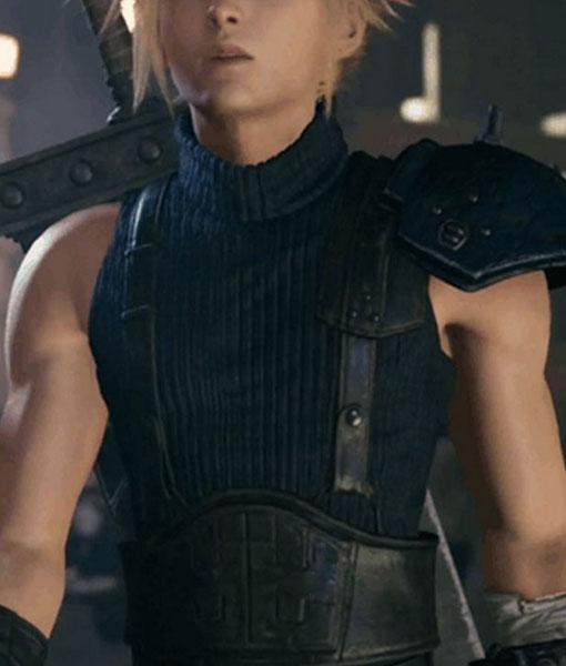 Cloud Strife Final Fantasy VII Remake Vest