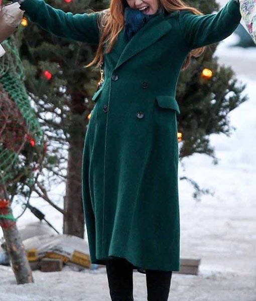Mackenzie Godmothered Green Coat