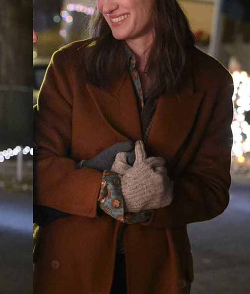 Harper Happiest Season Coat