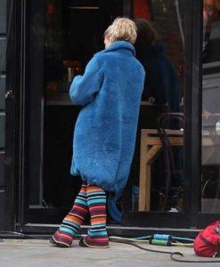 Suzie Pickles I Hate Suzie Blue Coat