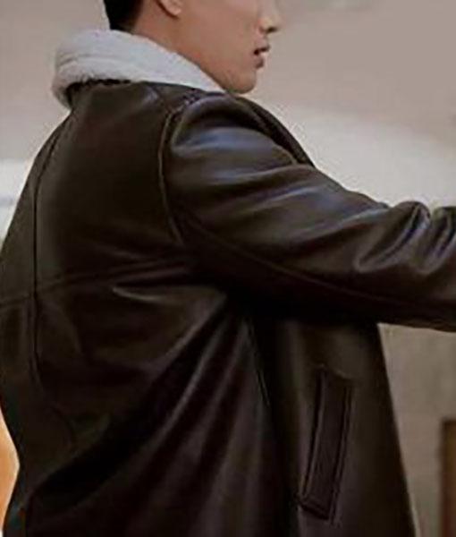 Jang Geun Won Itaewon Class Leather Coat