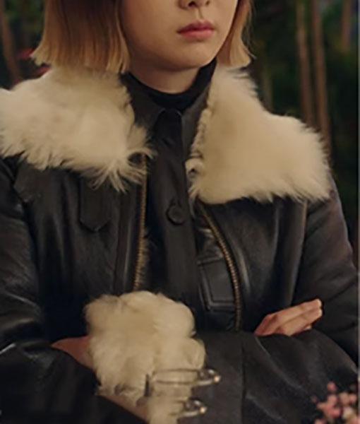 Jo Yi Seo Itaewon Class Leather Jacket