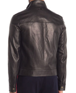 Jason Collared Black Jacket