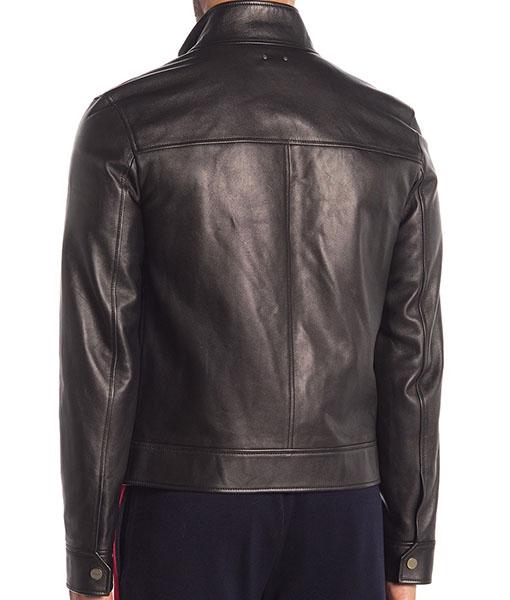 Jason Collared Black Jacket