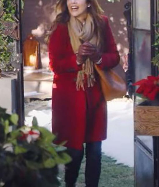 Jessica Perez Jingle Bell Bride Coat