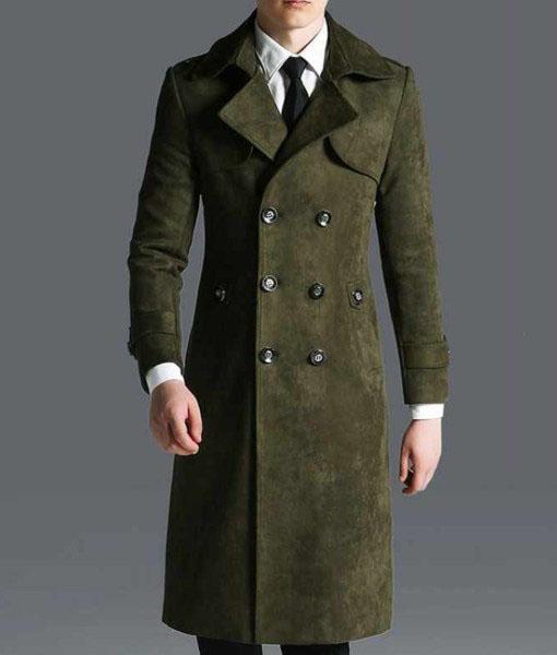 Gerrick Green Military Coat