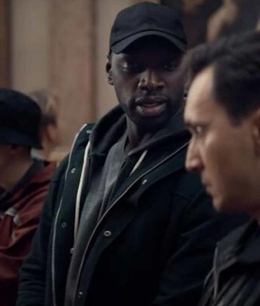 Arsene Lupin 2021 Omar Sy Black Jacket