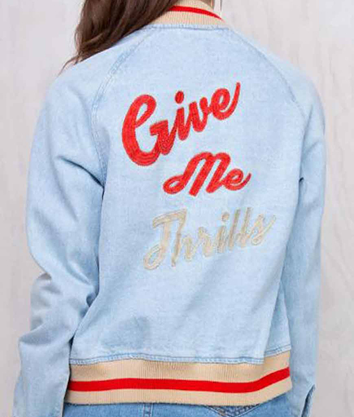 Give Me Thrills Varsity Jacket