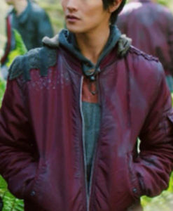 Monty Green The 100 Burgundy Jacket