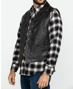Men's Outback Chief Black Vest