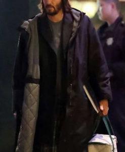 Neo The Matrix 4 Hooded Coat
