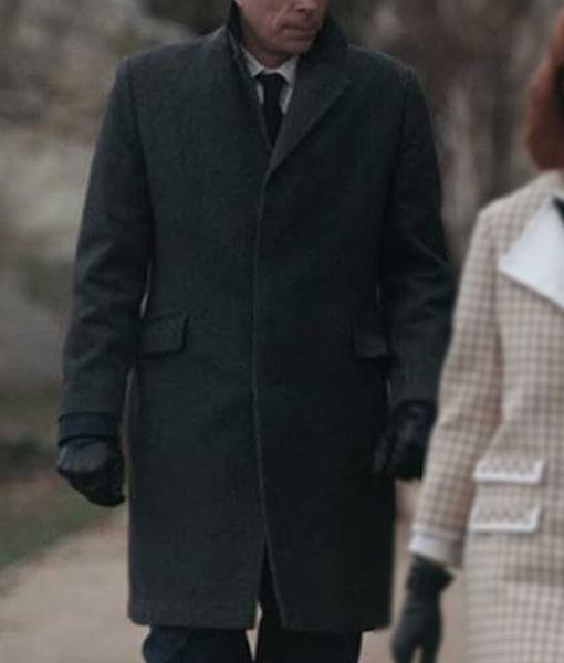 Mr. Booth The Queens Gambit Coat