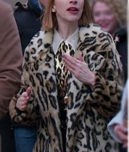 Lauren Heller Younger S06 Cheetah Coat