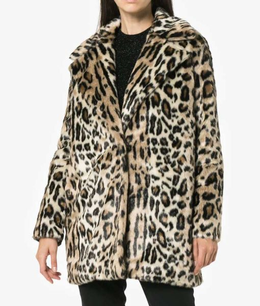 Lauren Heller Younger S06 Cheetah Coat