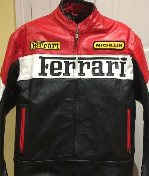 Ferrari leather jacket