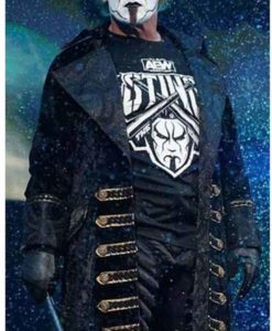 Steve Borden Sting AEW Black Coat