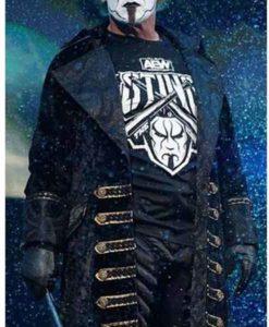Steve Borden Sting AEW Black Coat