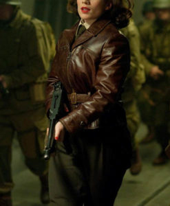 Peggy Carter Captain America The First Avenger Jacket