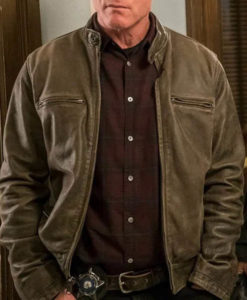 Hank Voight Chicago P.D S08 Leather Jacket