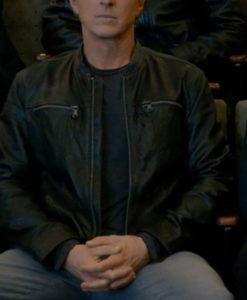 Johnny Lawrence Cobra Kai S03 Leather Jacket