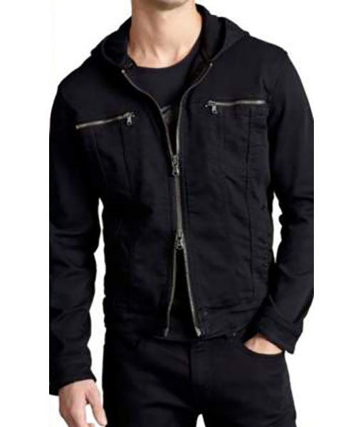Conrad Hawkins The Resident S04 Black Jacket