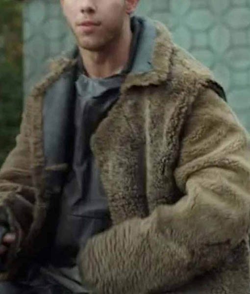 Davy Prentiss Jr. Chaos Walking Fur Coat
