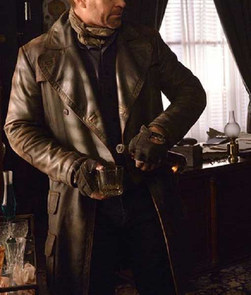 Joshua Nolan Brown Defiance Leather Coat