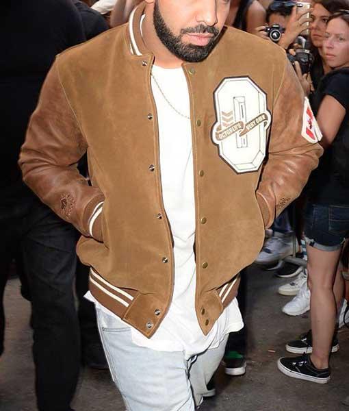Drake Brown Varsity Jacket