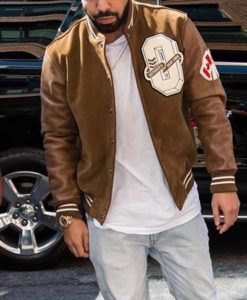 Drake Brown Varsity Jacket