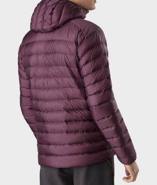 Jason Mens Burgundy Jacket